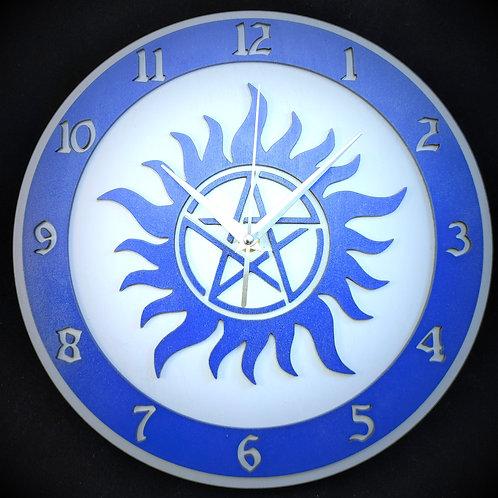 """12"""" Supernatural Clock"""