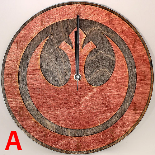 "12"" Rebel Clock"