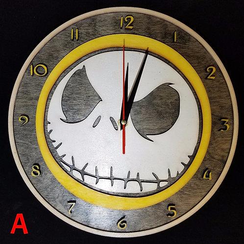"""12"""" Jack Skellington Clock"""