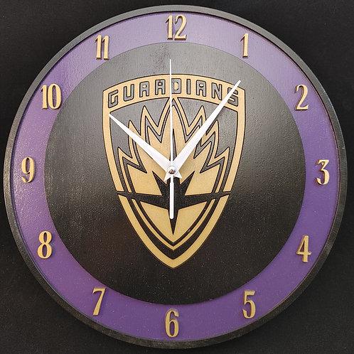 """12"""" Guardians Clock"""