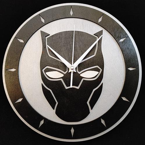 "12"" Black Panther Clock"