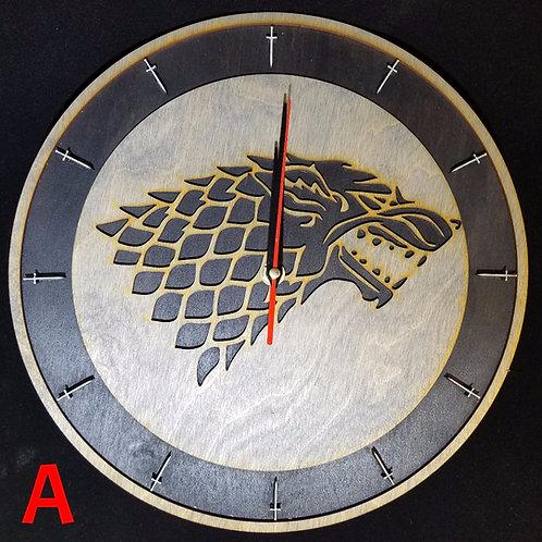 "12""  Stark Clock"
