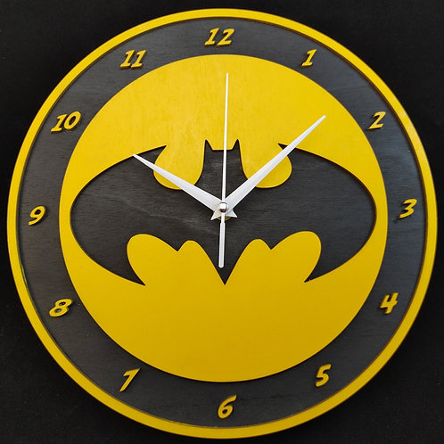 "12"" Batman (Chronicles) Clock"