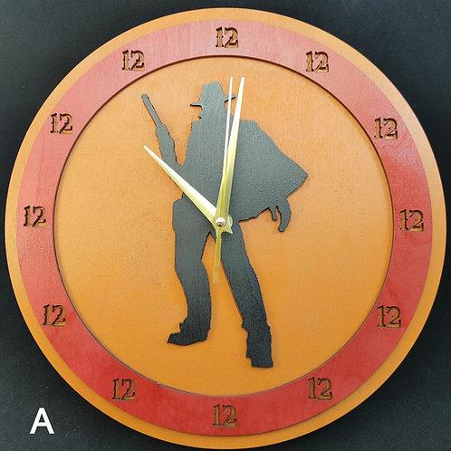 "12""  High Noon Clock"