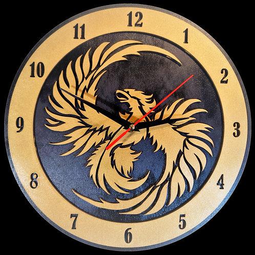 "12"" Phoenix Clock"