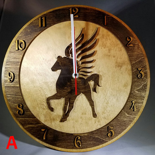 """12"""" Pegasus Clock"""