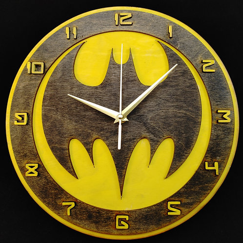 "12"" Batman (Signal) Clock"
