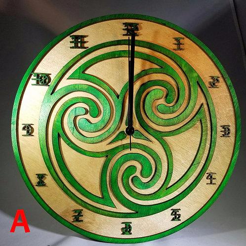 """12"""" Trinity Clock"""
