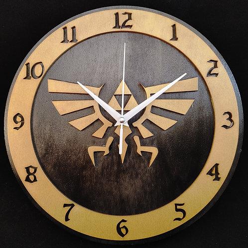 "12"" Hylian Crest Clock"