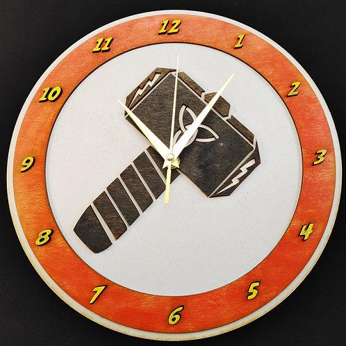 "12"" Mjölnir Clock"