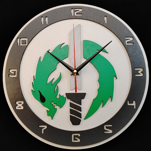 "12"" Genji Clock"