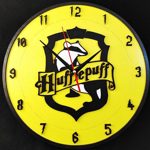 """12"""" Hufflepuff Clock"""