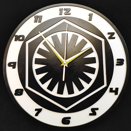 "12"" First Order Clock"