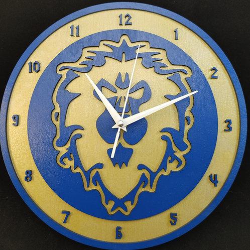 "12""  Alliance Clock"