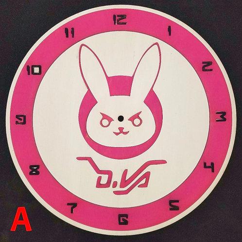 """12"""" D.Va Clock"""