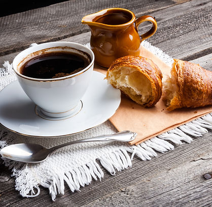 coffee and croissant. .jpg
