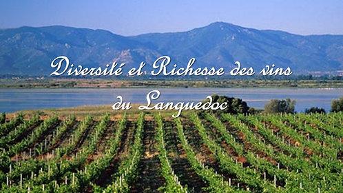 Diversité et Richesse des Vins du Languedoc - 08/10/2021