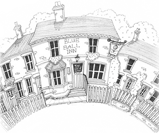The Blue Ball Inn Logo