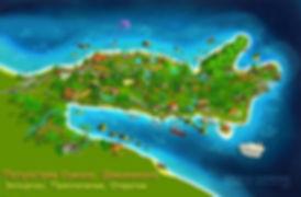 Peninsula Samana + isla Bacardi