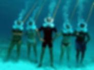 Aventura submarina en el Seaquarium Punta Cana