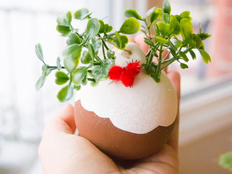 DIY Dollar Store Christmas Pudding Ornaments