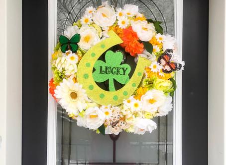 DIY St. Patrick's Day Wreath