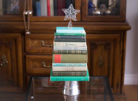 DIY Vintage Book Christmas Tree Decoration