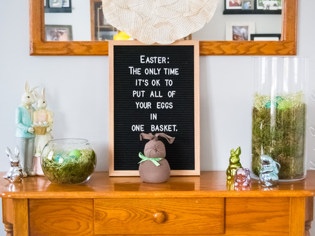 DIY Dollar Store Easter Decor {Video}