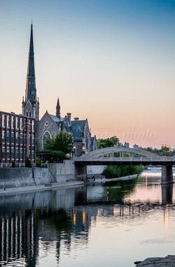 Downtown Galt, Cambridge, Ontario