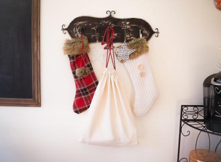 DIY Easy Santa Sack