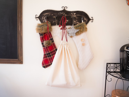 DIY Easy Santa Sack
