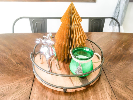 DIY Dollar Store Christmas Candles