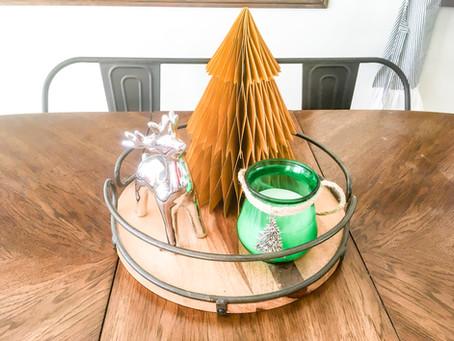 DIY Dollar Store Christmas Candles