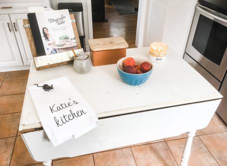 DIY Thrifted Kitchen Island