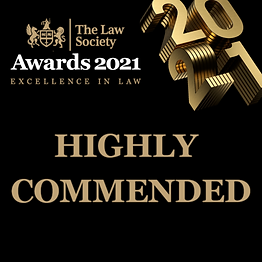 We are honoured to announce the City Solicitors Horizons programme has been highly commended at the Law Society Awards