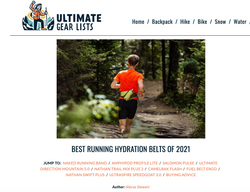 Hydration belt review