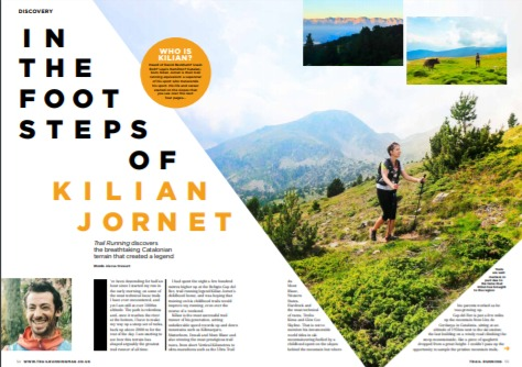 Running in the footsteps of Kilian Jornet - feature report
