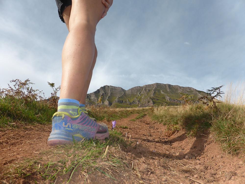 First steps on the trail - Akasha La Sportiva shoes