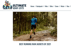 Running rain jackets review