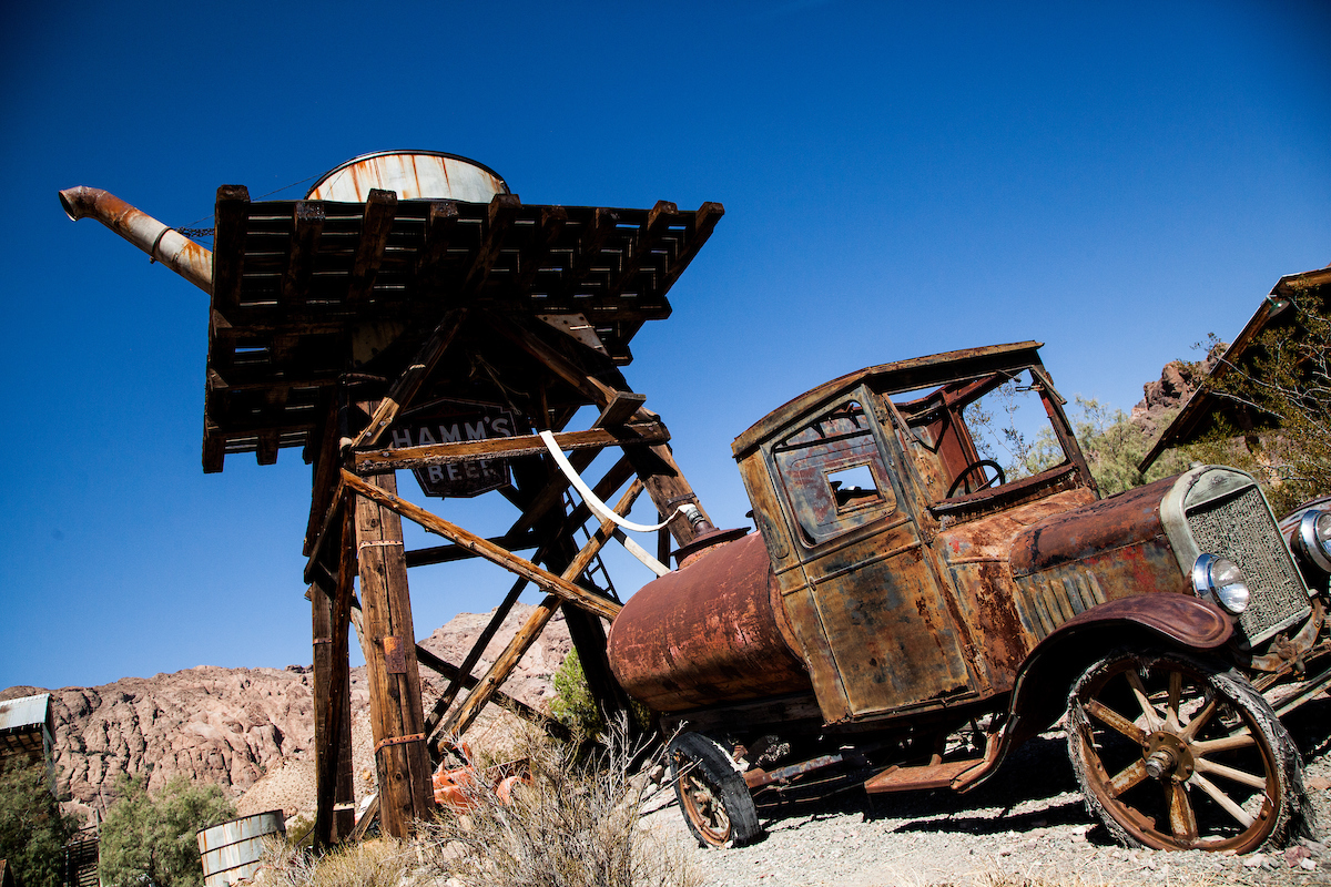 Techatticup Ghost Town Nevada - © Travel Nevada/Sydney Martinez