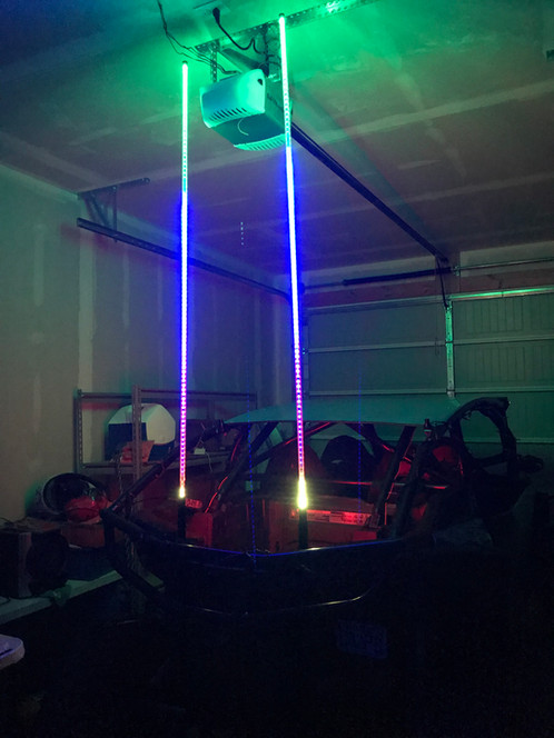 Side By Side Led Whips Mb Whips