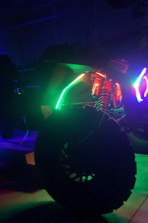 MB Whips Strip Rock Light Kit - 6 Piece