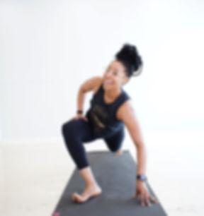 #Repost _lattechick26 _#squadgoals _bsyhouston ・・・_Awsome Power #yoga this morning led by _awkwardyo