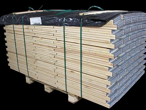 Holzaufsatzrahmen für Europalette IPPC