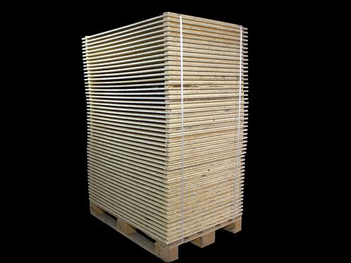 Deckel für Holzaufsatzrahmen IPPC in VE
