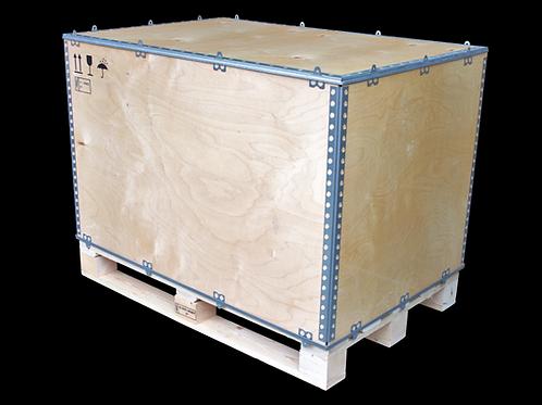 Faltkiste aus Sperrholz für Exportversand IPPC