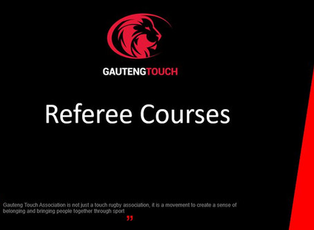 Referee Courses