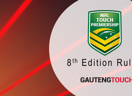 8th Edition - Touch Rugby Rules