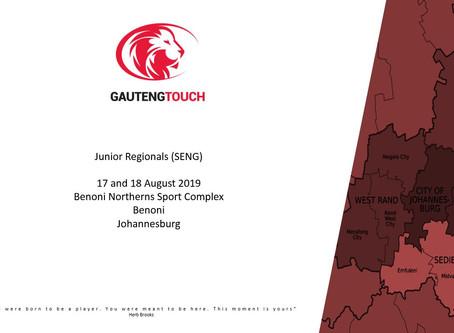 Junior Regionals (SENG) this weekend