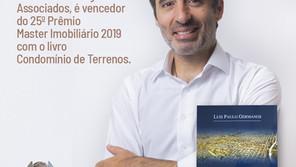 Luís Paulo Germanos é vencedor do 25o. Prêmio Master Imobiliário 2019